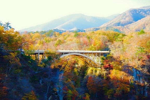 naruko gorge autumn