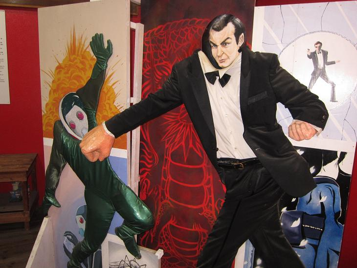 "007 ""The Man with the Red Tattoo"" Museum"
