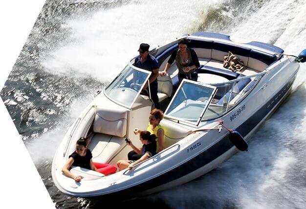 аренда лодки в санкт-петербурге