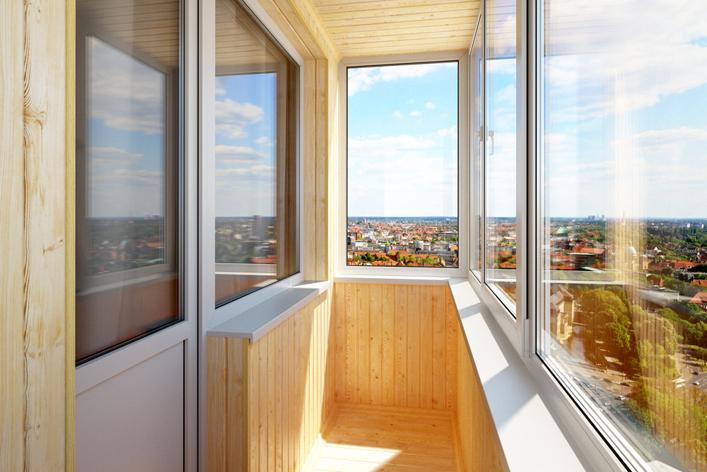 Застекление балкона светлица.