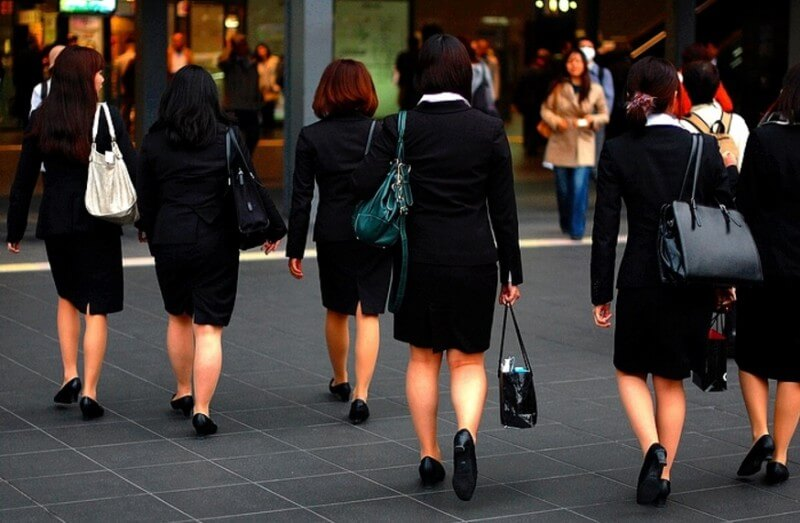 women in japan employment