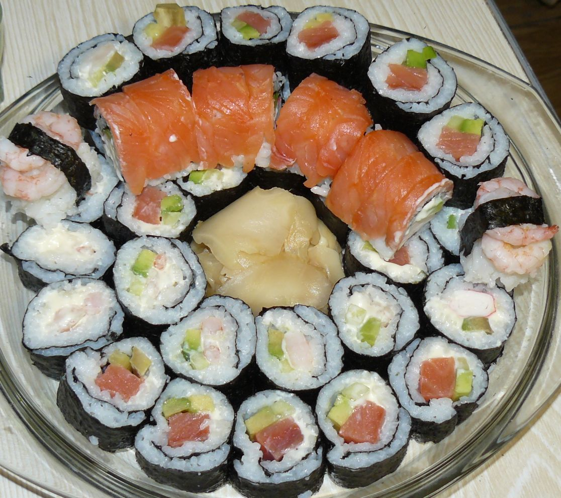 Приготовить суши дома пошагово с