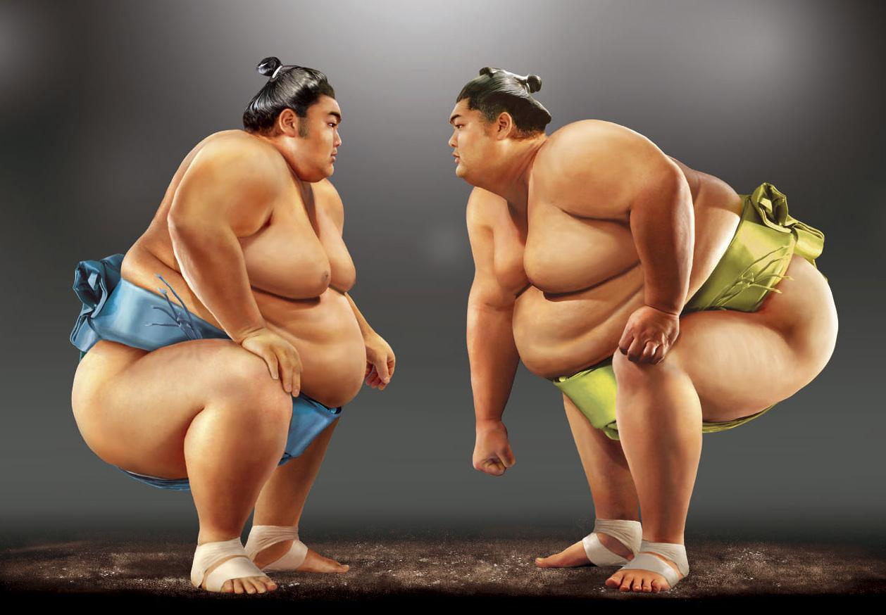 Сумоисты голые @ bigobe.com