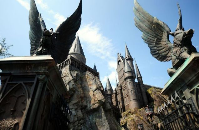 Wizarding world of Harry Potter в осаке