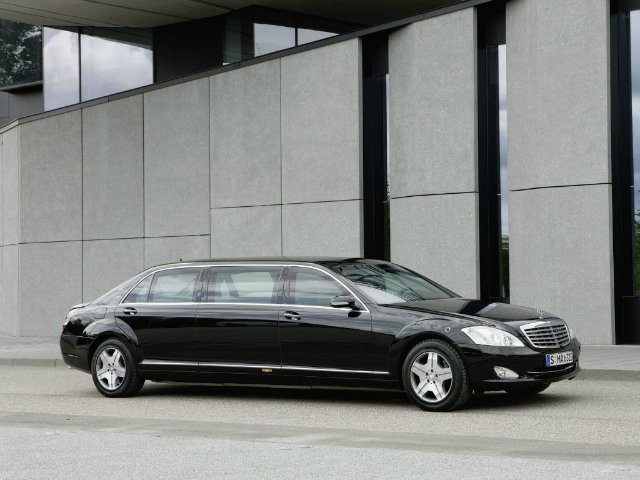 Mercedes Benz S 600 Guard Pullman