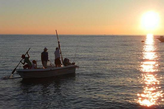 рыбалка в італії