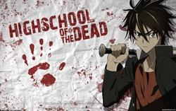 манга Школа мертвяков